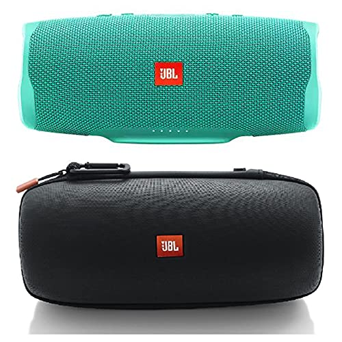 JBL Charge 4 Teal Bluetooth Speaker with JBL Authentic Carrying Case