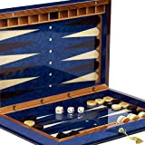 Bello Games Collezioni - Giovanni Luxury Wooden Backgammon Set from Italy 20'