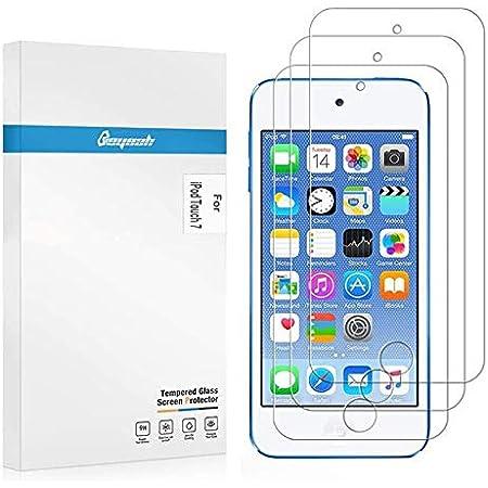【3枚セット】iPod touch 7(6/5)世代用 ガラスフィルム 日本製素材旭硝子製 厚さ0.33mm 強化ガラス 保護フィルム 高透過率 防爆裂 スクラッチ防止 気泡ゼロ 指紋防止 2.5D 硬度9H (2019年発売モデル) ラウンドエッジ加工 iPod touch 7 フィルム