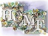 LHZBB DIY 5D Diamond Painting Adult Painting Kit by Numbers Homepage Full Round Flower Diamond...