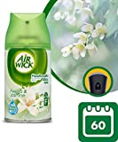 Air Wick Freshmatic Ricarica Spray Automatico, Fresia Bianca e Gelsomino, Pacco da 2 x 250 ml