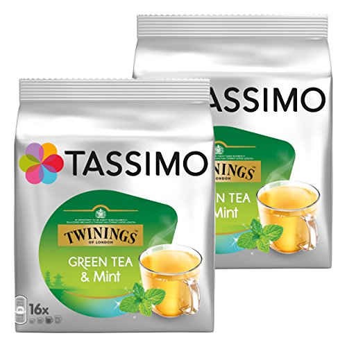 Tassimo Tea Time Green Tea & Mint, 2er Pack