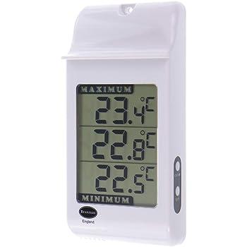 Max Min Thermometer Humidity Meter Indoor Outdoor Garden Greenhouse