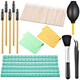 150 Pieces Airpod Cleaner Kit for Port Headphones Cellphone Include Cleaning Putty Cleaning Brushes Soft Brush Microfiber Cleaning Cloth Swab Air Blow Tweezers