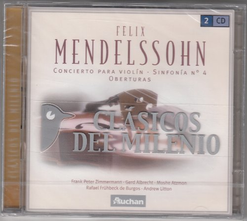 Mendelssohn: Violin Concerto No. 2 (Zimmermann), Sinfonie Nr.4, 7 Ouvertüren [Import] [Doppel-CD]