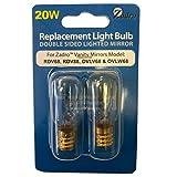 20-watt Replacement Light Bulb for Zadro OVLW68/OVLW68/RDV68/RDV88 - Set of 2