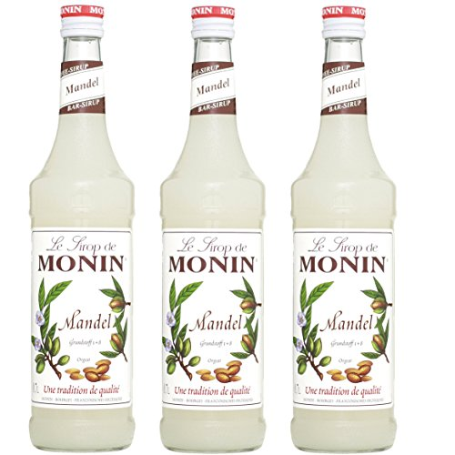 Monin Sirup Mandel, 0,7L 3er Pack