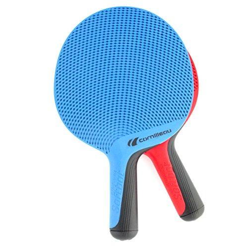 Cornilleau CORNILLEAUSoftbat Eco Design Tischtennisschläger (Set von 2), rot/blau, Einheitsgröße
