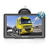 AWESAFE Navigation für Auto LKW Bluetooth Navigationsgerät 7 Zoll 8GB 256M Navigationsgerät 2020 Kartenupdate Europa