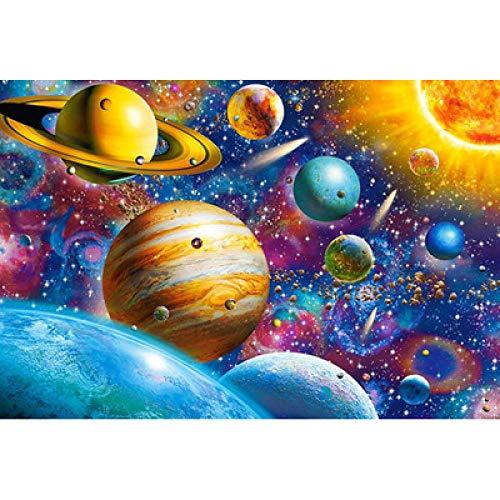 LFLFLF Puzzle para Adultos 4000 Piezas-Puzzle de Colores Puzzle de Madera 4000 Piezas-Universe Planet