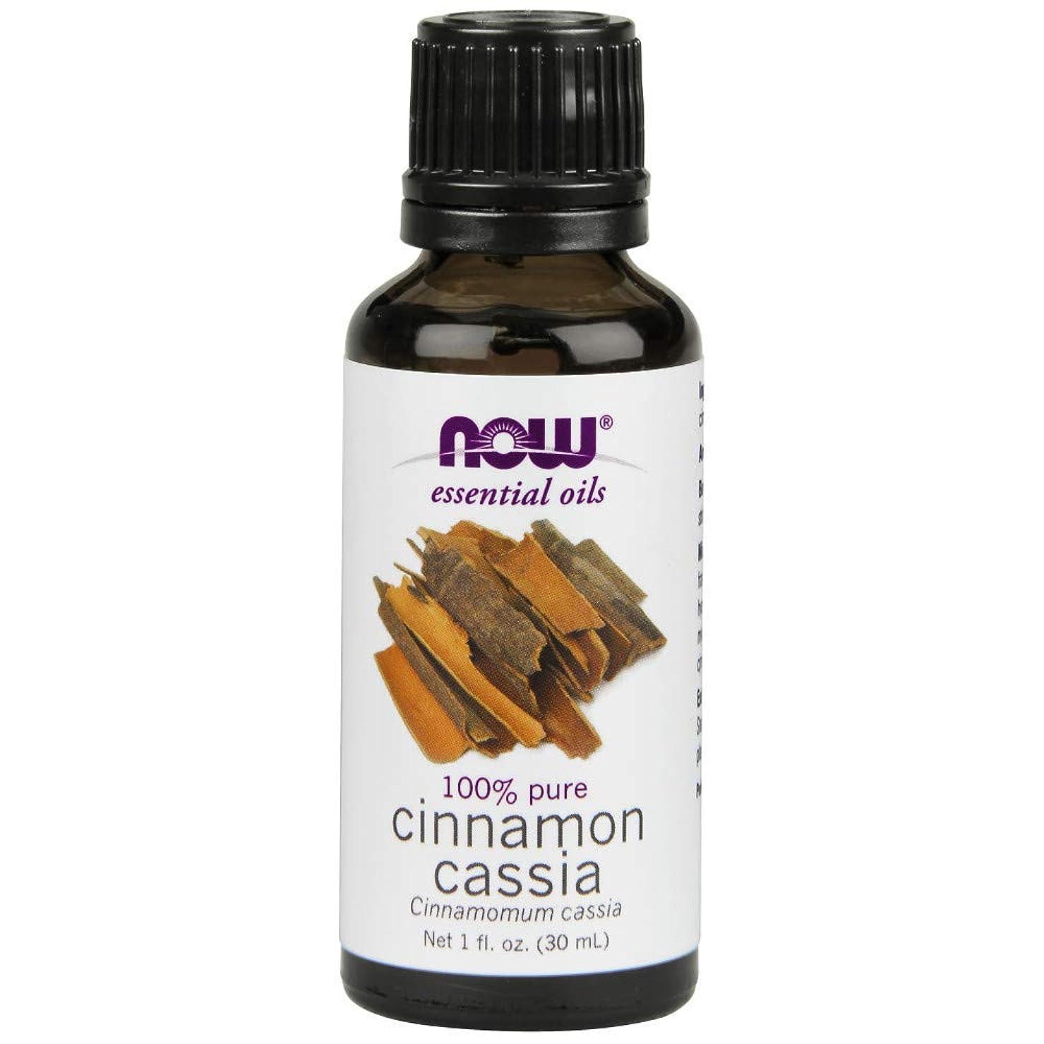 フィールド日焼け姉妹Now - Cinnamon Cassia Oil 100% Pure 1 oz (30 ml) [並行輸入品]
