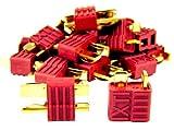 DEAN T-Plug Goldkontaktstecker (36 Ampere) 10 Paare, verpolungssicher