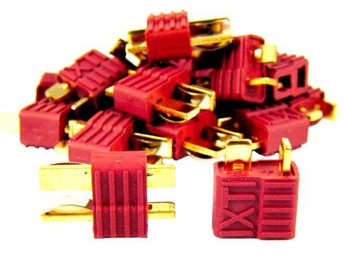 20 Stück (10 Paar) Nylon DEAN Hochstrom T-Stecker | T-Plug Connector | DEANS