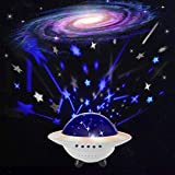 Star Sky Projector, Ohuhu Kids Night Light UFO Shape, Baby Light Projectors
