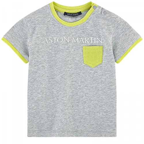 Aston Martin - T-Shirt Gris - 6 Mois, Gris Clair