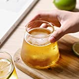 2Pcs/Many Beer Glasses Cups Transparent Mount Fuji Beer Glass Wine Glass Coffee Cup Whiskey Dessert Glass 300Ml Drink Water Glass-1 Piece