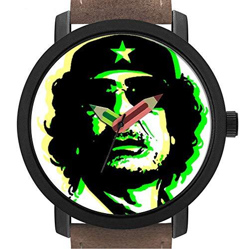 Geschenk für Erwachsene   Kinder   Geburtstag   Stilvolle niedliche Armbanduhr mit Bleistift Form Pointer Ornament Geschenk 260.Muammar Gaddafi