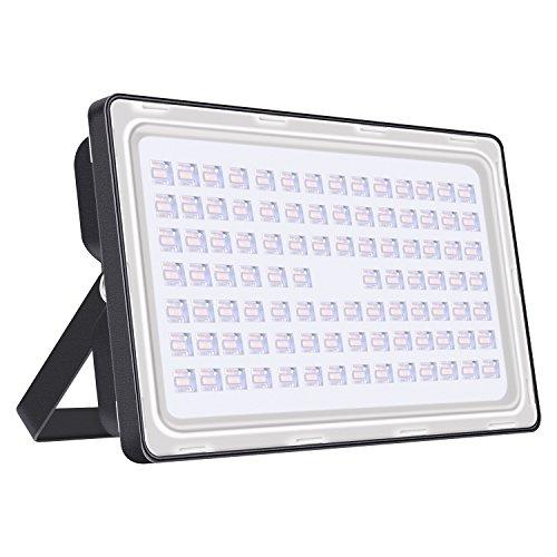 Viugreum LED Strahler Außen, 250W Warmweiss Flutlicht, 1200LM, IP65 Wasserdicht Scheinwerfer für Garten, Garage, Sportplatz oder Hotel [Energieklasse A+]