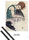 1art1 Egon Schiele Poster (91x61 cm) Die Frau des