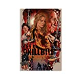 GANGPAO Kill Bill Filmposter auf Leinwand, Kunstdruck,