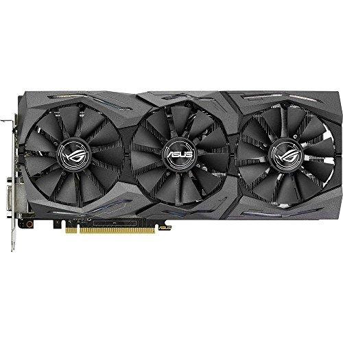 Asus GeForce ROG Strix GTX 1060 Scheda Grafica da 6 GB, 4x Monitor, Aura Sync, Frequenza Massima 1746 Mhz