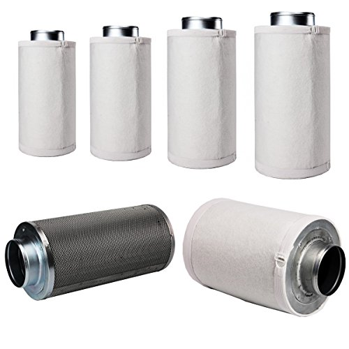 LABT Aktivkohlefilter in Profi Qualität - Grow AKF | Flanschgröße 125 mm | für 420 m³/h Luftumsatz