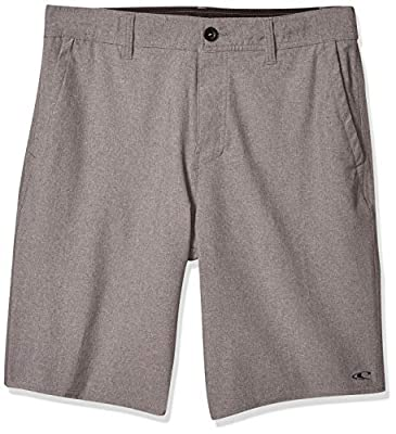 O'Neill Men's Loaded Quick Dry Stretch Hybrid Boardshort, Heather Grey, 38 from O'Neill