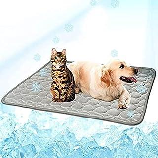 BYMEMYR Zomer Koeling Mat voor Honden Zelf Hond Koeling Mat Ademend Pet Crate Pad Draagbare Wasbare Draaddier Deken Deken...