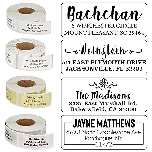 Address Labels Personalized 20+ Designs to Choose from! Return Address Labels Customized Mail Labels Wedding Labels Custom Address Stickers