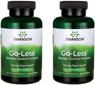 Swanson Go-Less Bladder Control Formula 90 Sgels 2 Pack