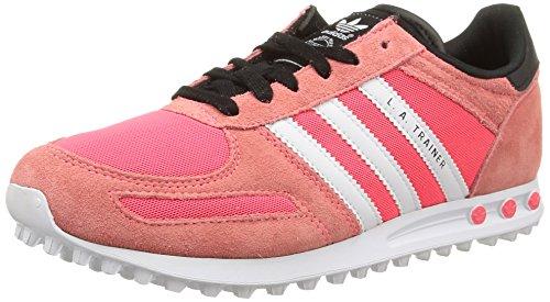 adidas La Trainer K, Scarpe da Ginnastica, Flash Red S15/Ftwr White/Flash Red S15, 30 EU