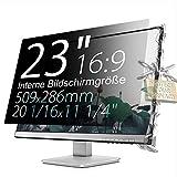 Xianan 23 zoll 16:9 Breitbild Displayfilter Bildschirmfilter 20