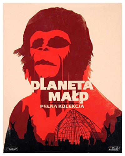 Planet der Affen (BOX) [5Blu-Ray] [Region B] (Deutsche Sprache. Deutsche Untertitel)