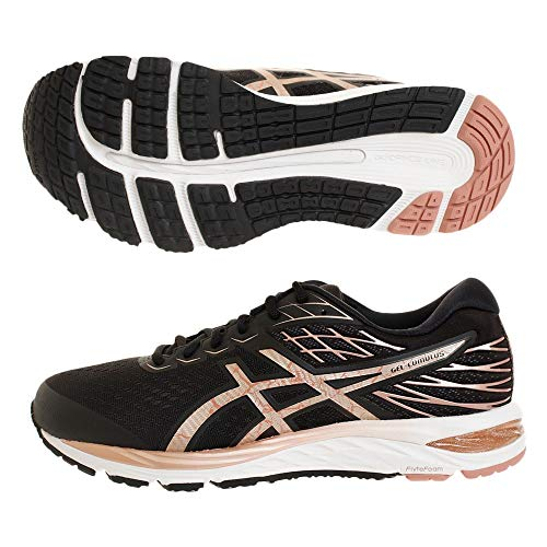 Asics Mens 1011A881-001_45 running shoes, Schwarz (black/rose gold), 45 EU