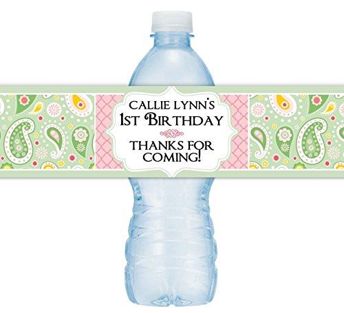 Bottle Label Birthday