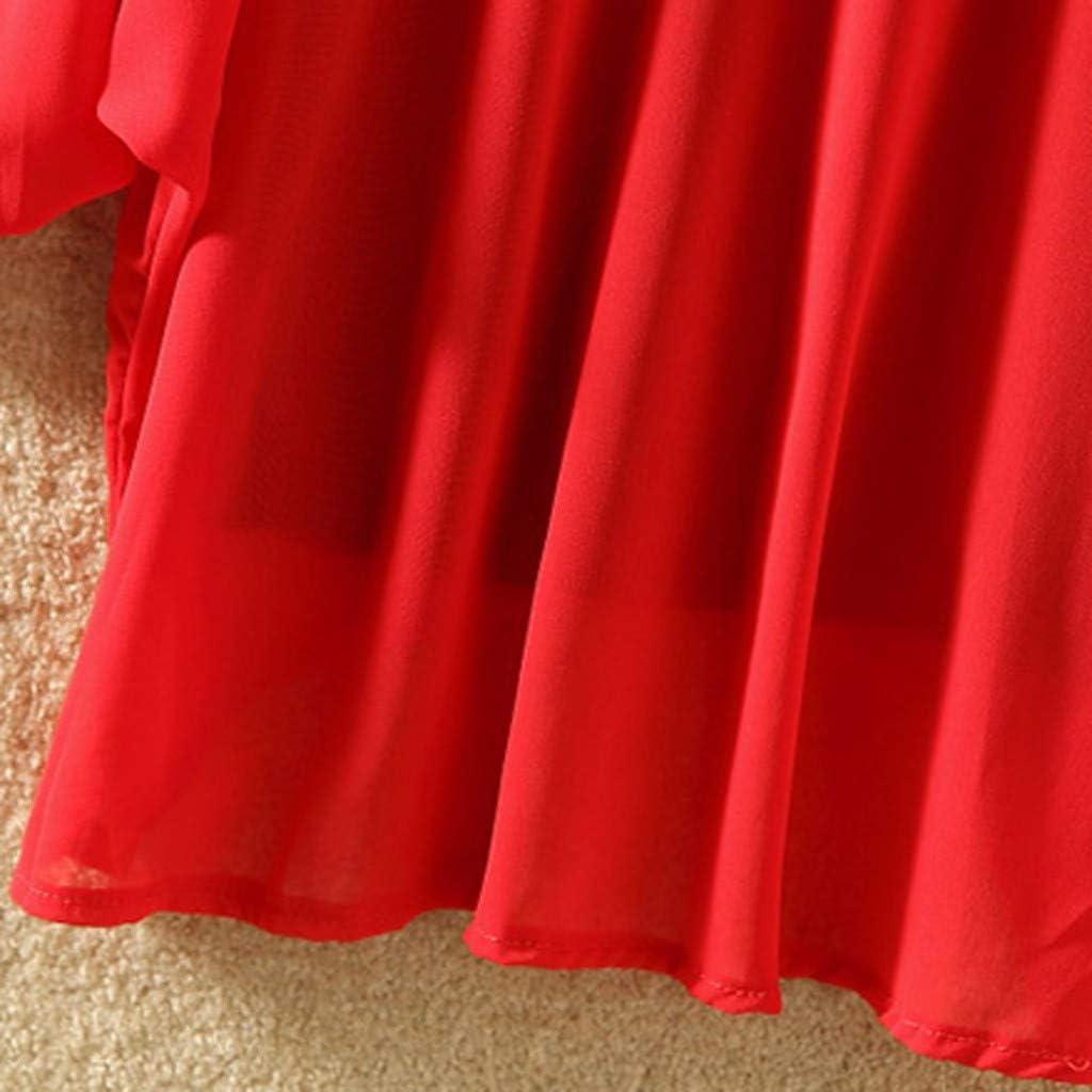 LINKIOM Fashion Women Chiffon Turn-Down Collar Solid Short Batwing Sleeve Shirt Tops