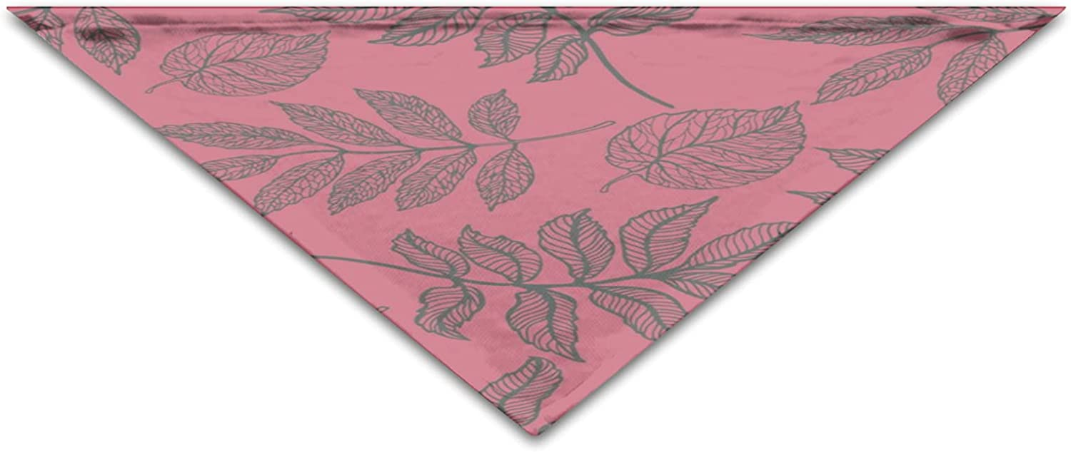 Colorful Autumn Ranking TOP4 Leaves Max 54% OFF Pink Pattern Birthd Cool Bandanas Fashion