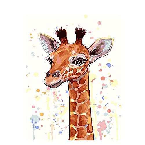KCHUEAN Puzzles Für Erwachsene 1000 Stück Brown Giraffe Holz Montage Dekoration Für Das Heimspielzeug Spiel Lernspielzeug Für Kinder Und Erwachsene