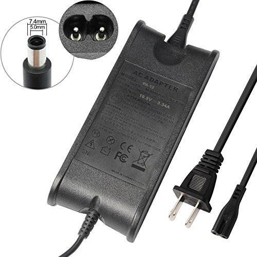 Futurebatt 65W AC Adapter Charger Power Supply for Dell Inspiron 1440 1501 1505 1520 1521 1525, Dell Inspiron 1150 1546 6000 6400 8500 8600 9300 9400 600M 640M 700M E1405 E1505 E1705 w/Cord