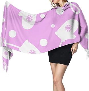 27 'x77' Unique Scarf Glove Warm Comfortable Girls Scarfs Conjunto de bufanda para niñas Elegante manta cálida grande