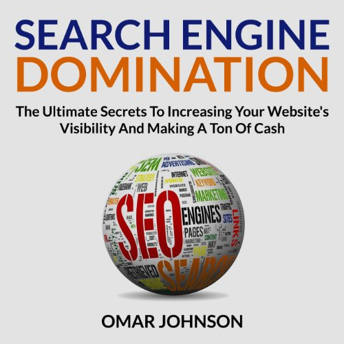 Search Engine Domination audiobook cover art