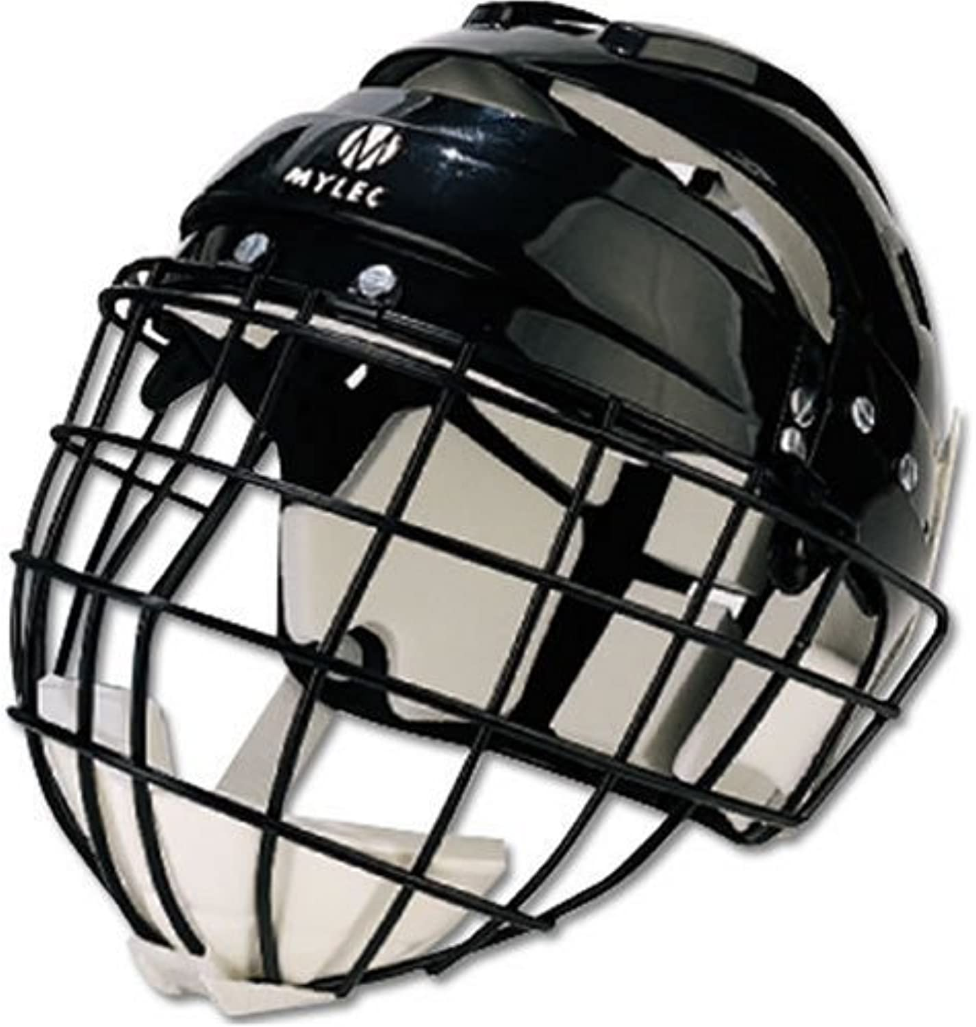 Mylec Jr. Helmet with Wire Face Guard Black