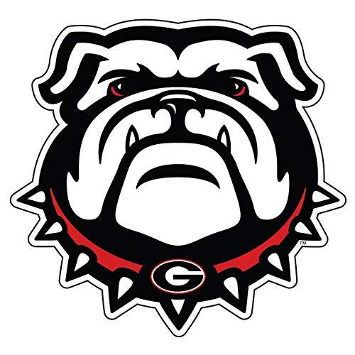 Craftique Georgia Bulldogs Decal (New Bulldog Head Decal