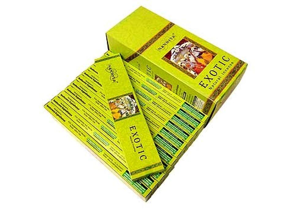 図書館キャンベラ値下げNANDITA(ナンディータ) エキゾチック香 スティック EXOTIC 12箱セット