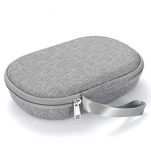 Hard Case for Bose QuietComfort 35 (Series II), QC35, QC25, QC15 Wireless Headphones Accessories. Travel Carrying Storage Bag - Grey (Grey Lining)