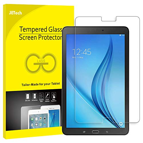JETech Screen Protector for Samsung Galaxy Tab E 9.6, Tempered Glass Film