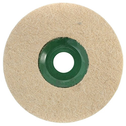 ExcLent 5 Inch Round Polishing Wheel Wool Felt Polishers Pad For Marble Stone Furniture
