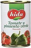 Hida Tomate y Pimiento Verde 400g x 6 Latas - Total: 2400 g