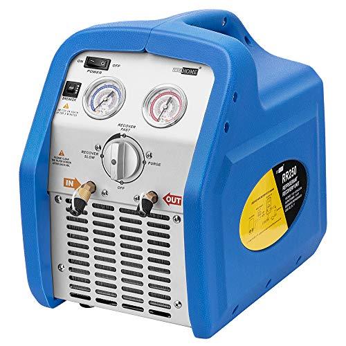 VIVOHOME 110-120V AC 60Hz 3/4HP Single Cylinder Portable Refrigerant Recovery Machine