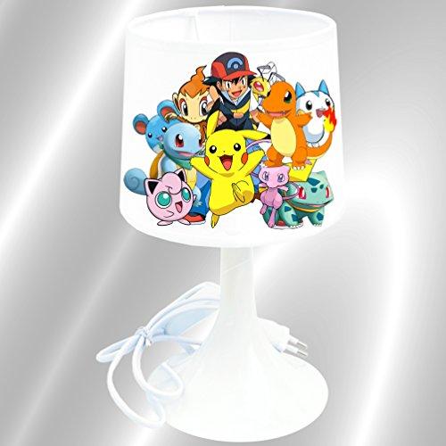 Lampe de chevet de création - Lampe à poser enfant - Pokemon